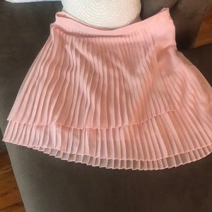 Vince Camuto tiered pleated skirt
